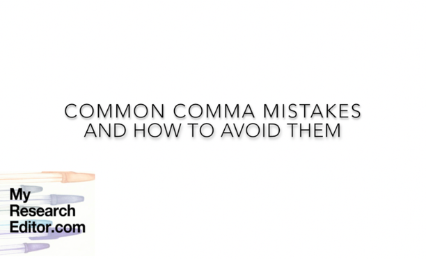 how to avoid common comma mistakes